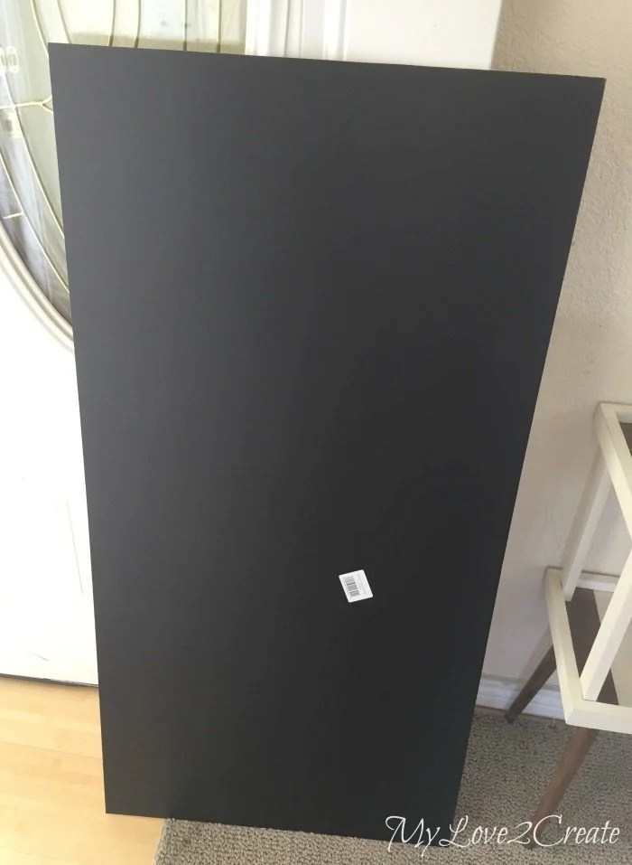 1/4 inch chalk board panel