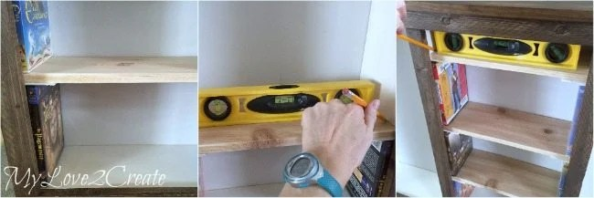 measuring for shelves