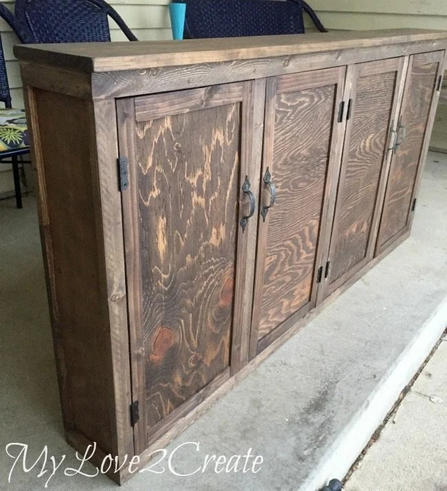 MyLove2Create, kid's old drawer media Cabinet