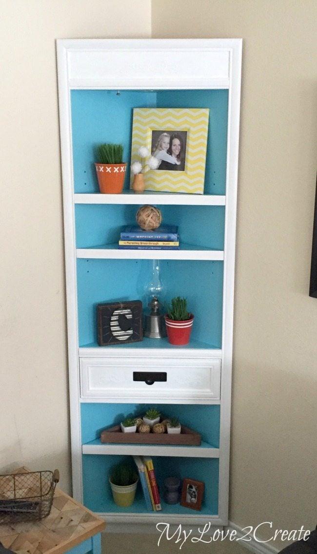 MyLove2Create, corner cabinet front