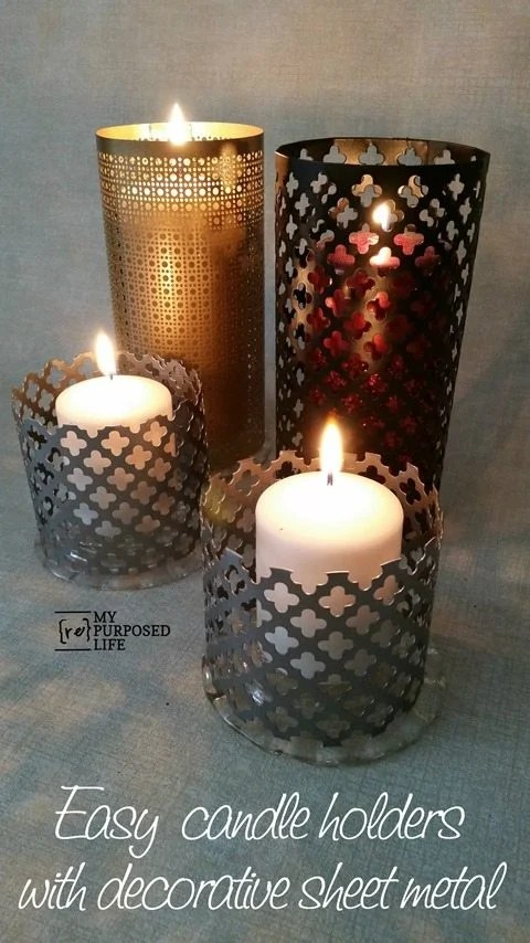 MyRepurposedLife-easy-sheet-metal-candle-holders