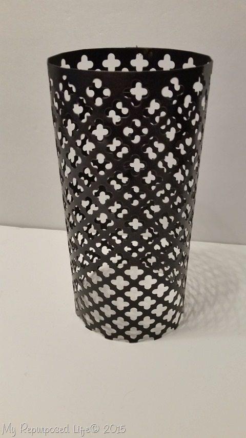 black-sheet-metal-candle-holder