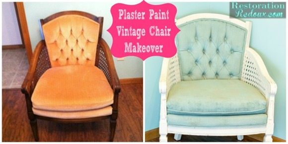 plaster-paint-vintage-chair-makeover