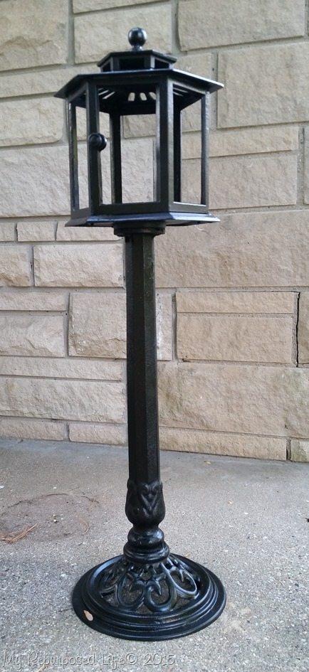 black-cast-iron-planter-post