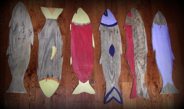 Wooden Fish made from Pallet Wood