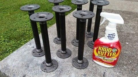 degrease-plumbing-pipe-table-legs