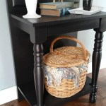 DIY Entryway Table