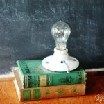 How to Make a Repurposed Books Lamp in 10 Easy Steps!