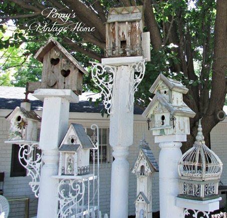 shabby-bird-houses