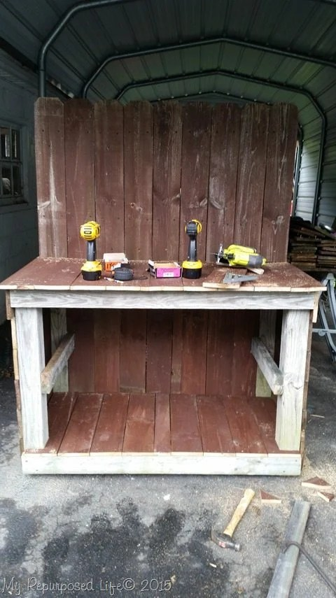 diy-outdoor-buffet-in-progress