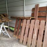 Recent Finds free fence and drawers