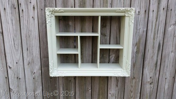 green-shadow-box-cubbies-shelf
