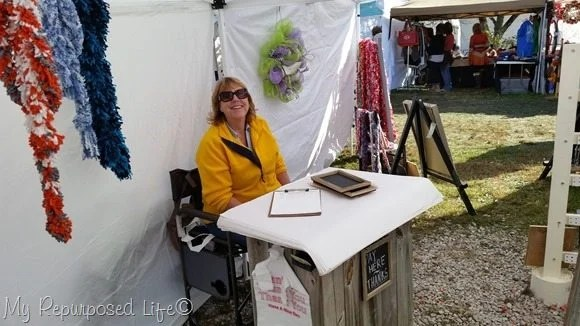 Craft Show Checkout Station My Repurposed Life 174