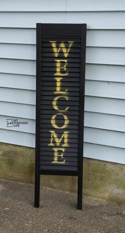 my-repurposed-life-black-welcome-shutter-porch