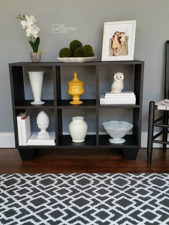 Cubby Organizer Makeover