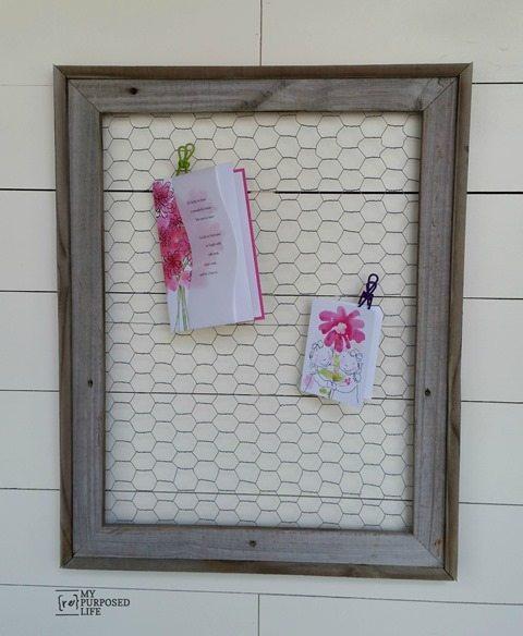 my-repurposed-life-rustic-chicken-wire-memo-frame