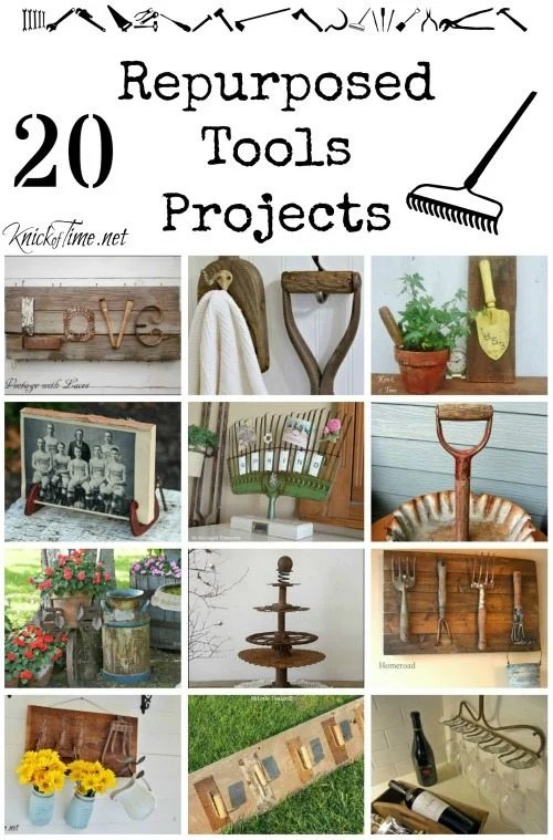 repurposed tools projects