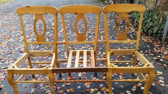 How to make a triple chair bench for your farm table