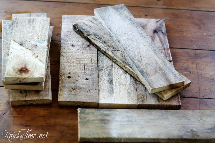 pallet wood scrap