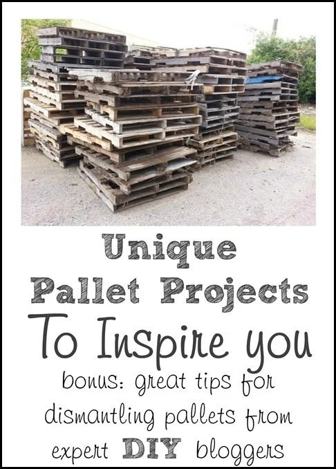 Unique Pallet Projects to Inspire You