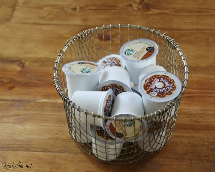 K-cups wire basket