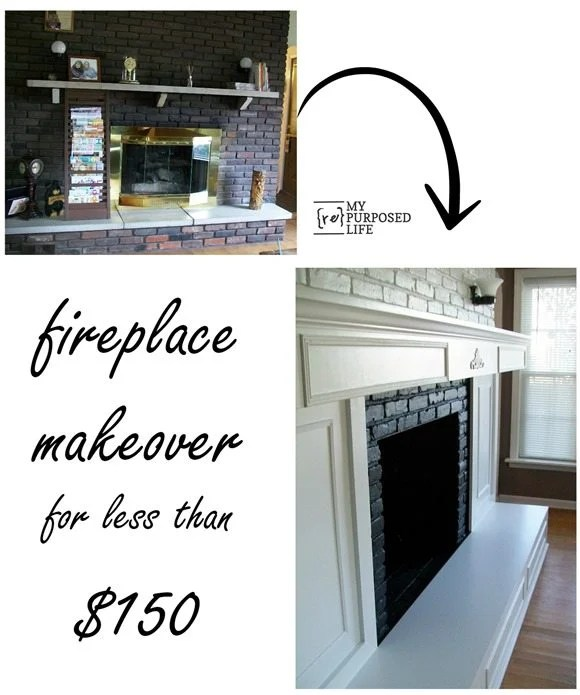 inexpensive-fireplace-makeover