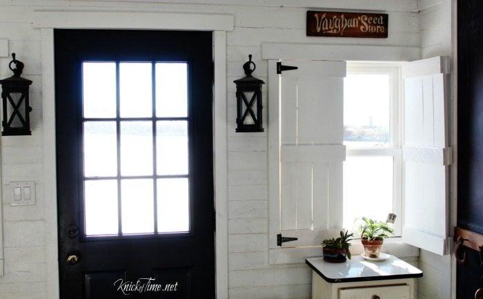 Wall Inside Window Shutters