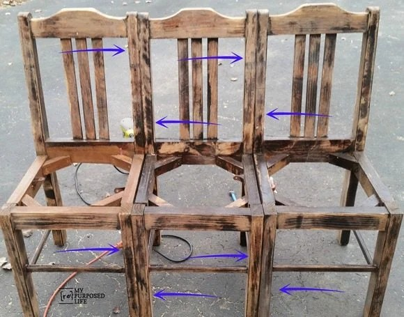 my-repurposed-life-how-to-easy-chair-bench