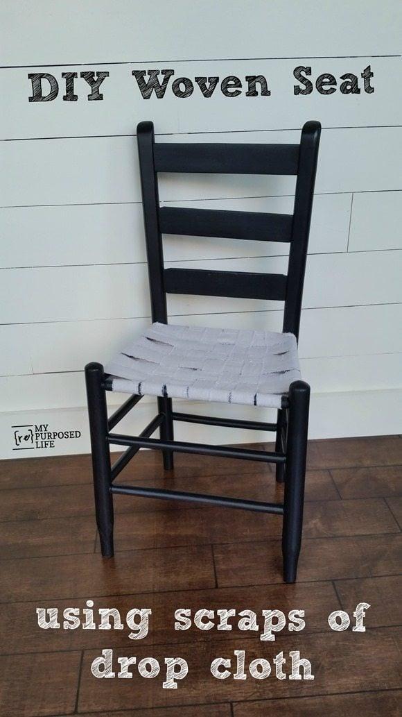 Easy Weave Chair Seat My Repurposed Life 174