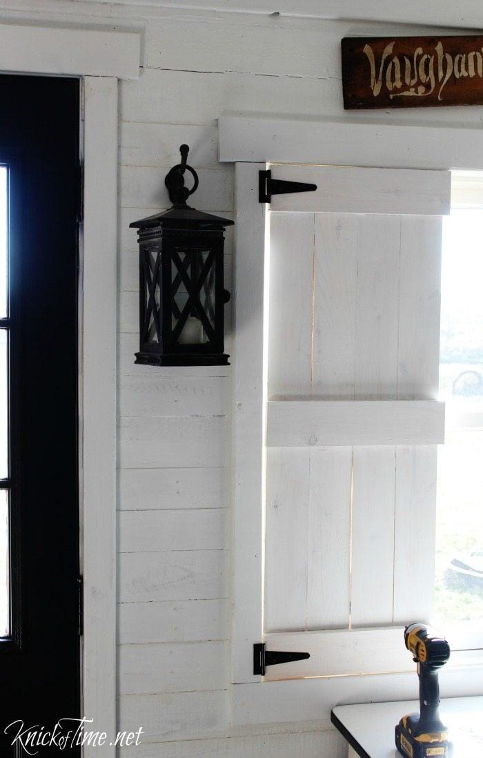 shutters test fit