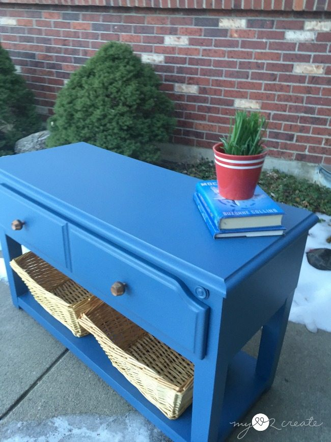 Repurposed Storage Bench