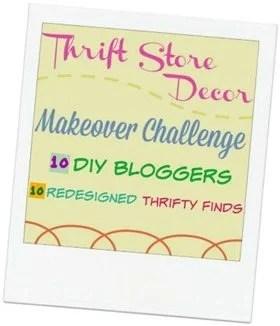 thrift store decor makeover challenge