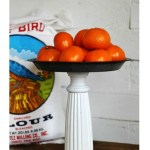 Pie Plate Pedestal Stand Easy Project