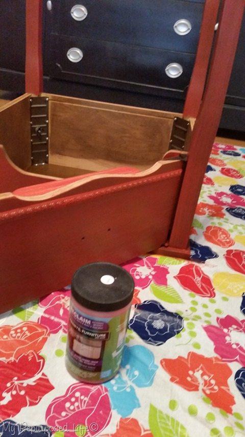 reclaim paint poppy