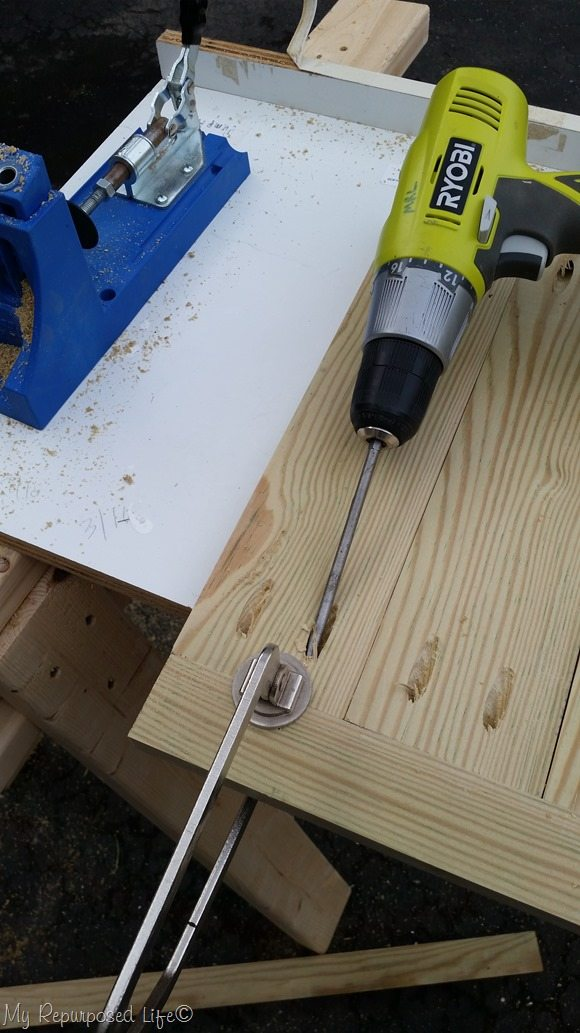 clamp boards secure pocket hole screws