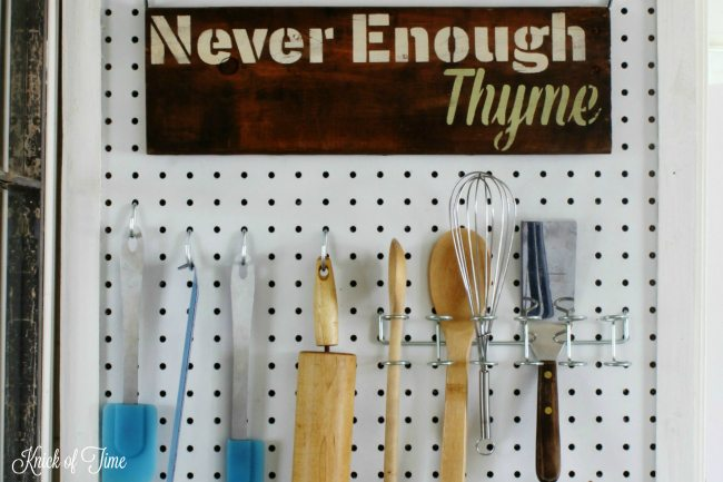 kitchen organization station tools - Knick of Time