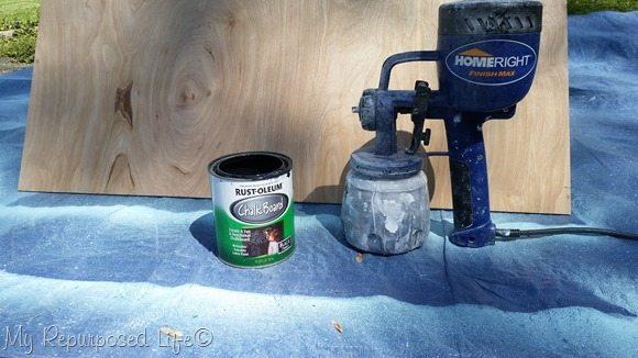 finish max rustoleum chalkboard paint