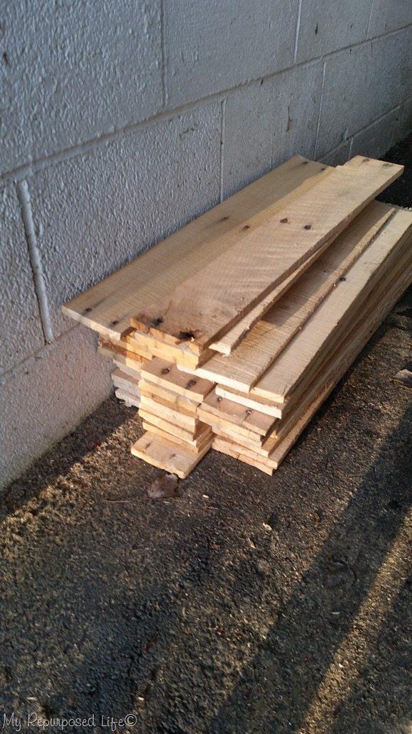 free pallet wood scraps