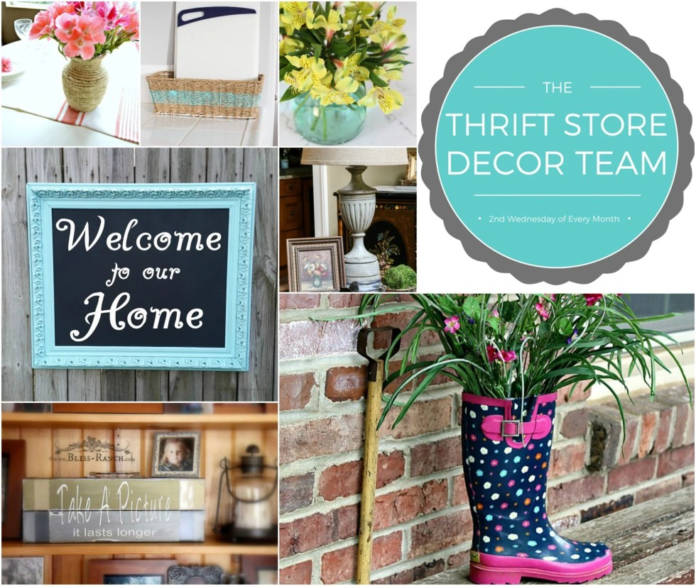 the thrift store decor team may 2016