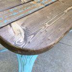bar stool leg Bench