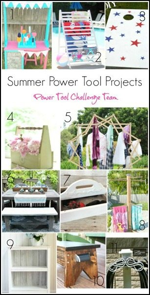 Power Tool Challenge Team Summer Themed Projects 2