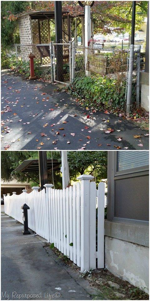 driveway side