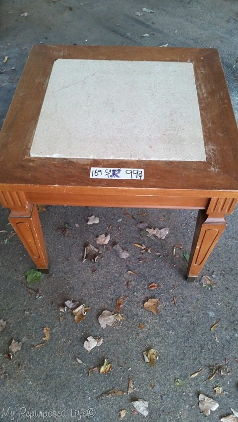 1 dollar table