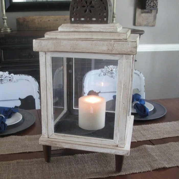 Turn Old Frames Into A Lantern My Repurposed Life