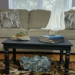 How to make a Coffee Table using Chair Legs and Wood Flooring