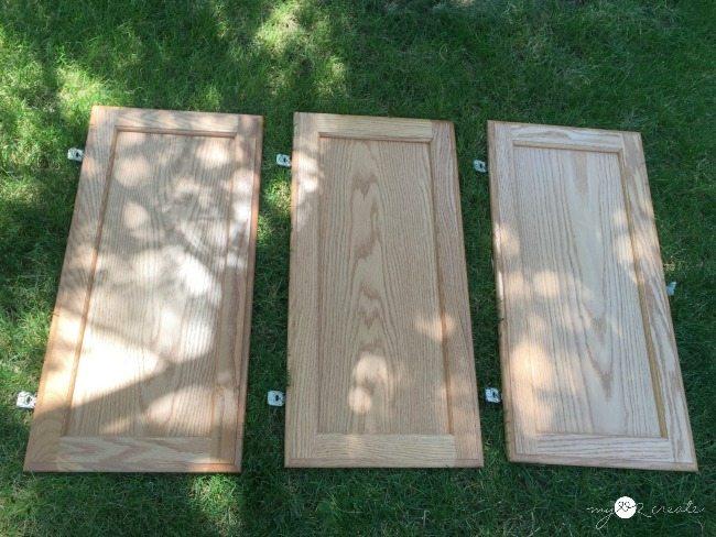 cupboard doors for making a bookshelf