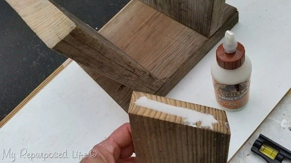 glue brace easy step stool