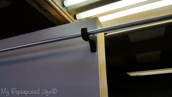 curtain rod portable wall