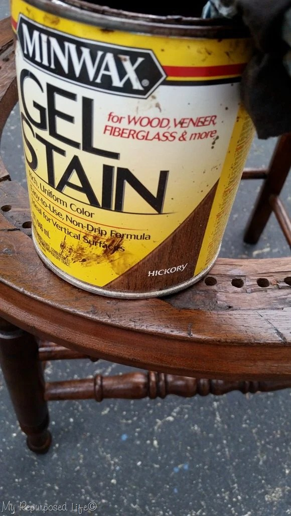 minwax hickory gel stain