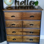 Modified Dresser | Navy and dark stain – eBook